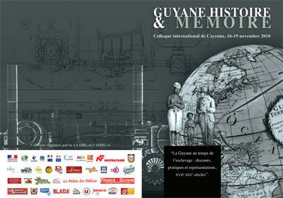 Guyane Histoire & Mémoire, la Guyane Française au temps de l'esclavage