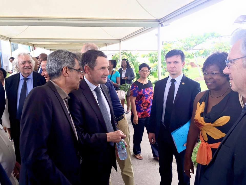 Inauguration officielle de l'Université de Guyane