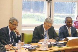 photo réunion délégation sénatoriale