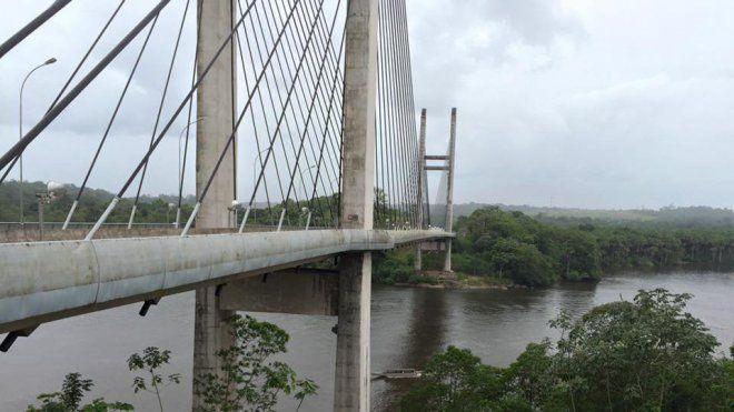 Pont sur l'Oyapock : une ouverture attendue mais des questions en suspend