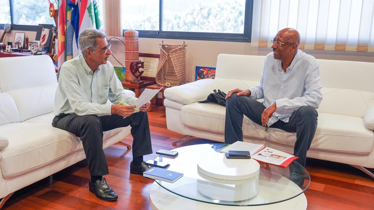 Communiqué : les sénateurs guyanais mobilisés pour surmonter la crise du COVID-19