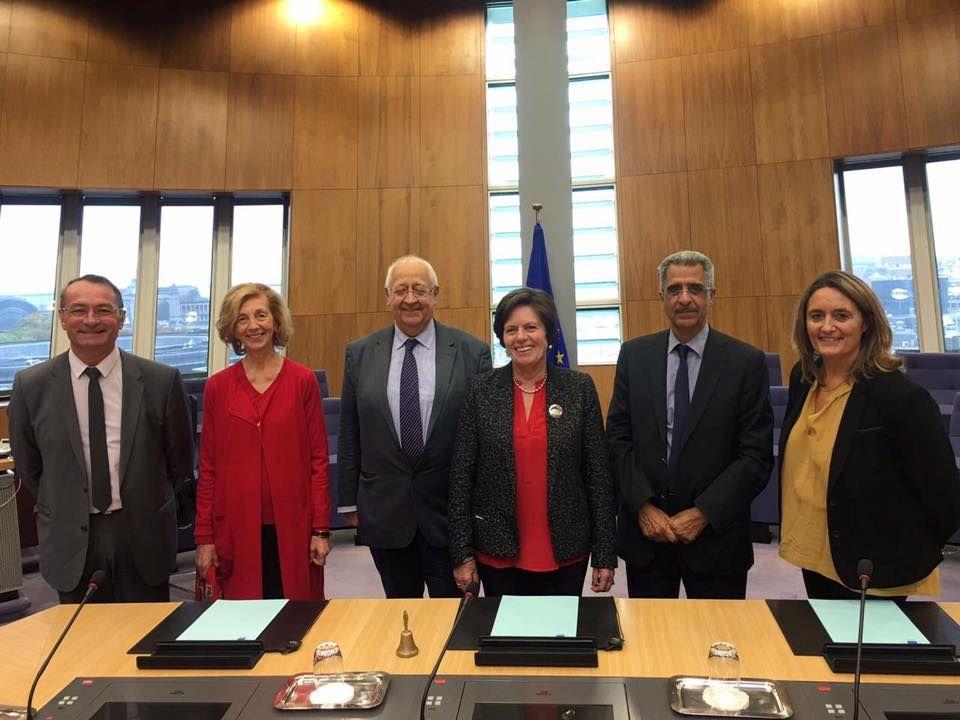 Déplacement de la Délégation aux entreprises du Sénat à la Commission Européenne