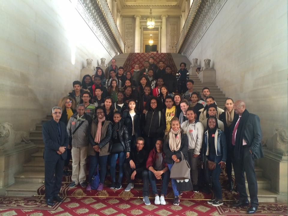 Visite de Lycéens Guyanais au Luxembourg