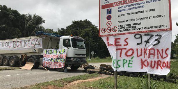 Crise sociale en Guyane : les parlementaires interpellent François Hollande