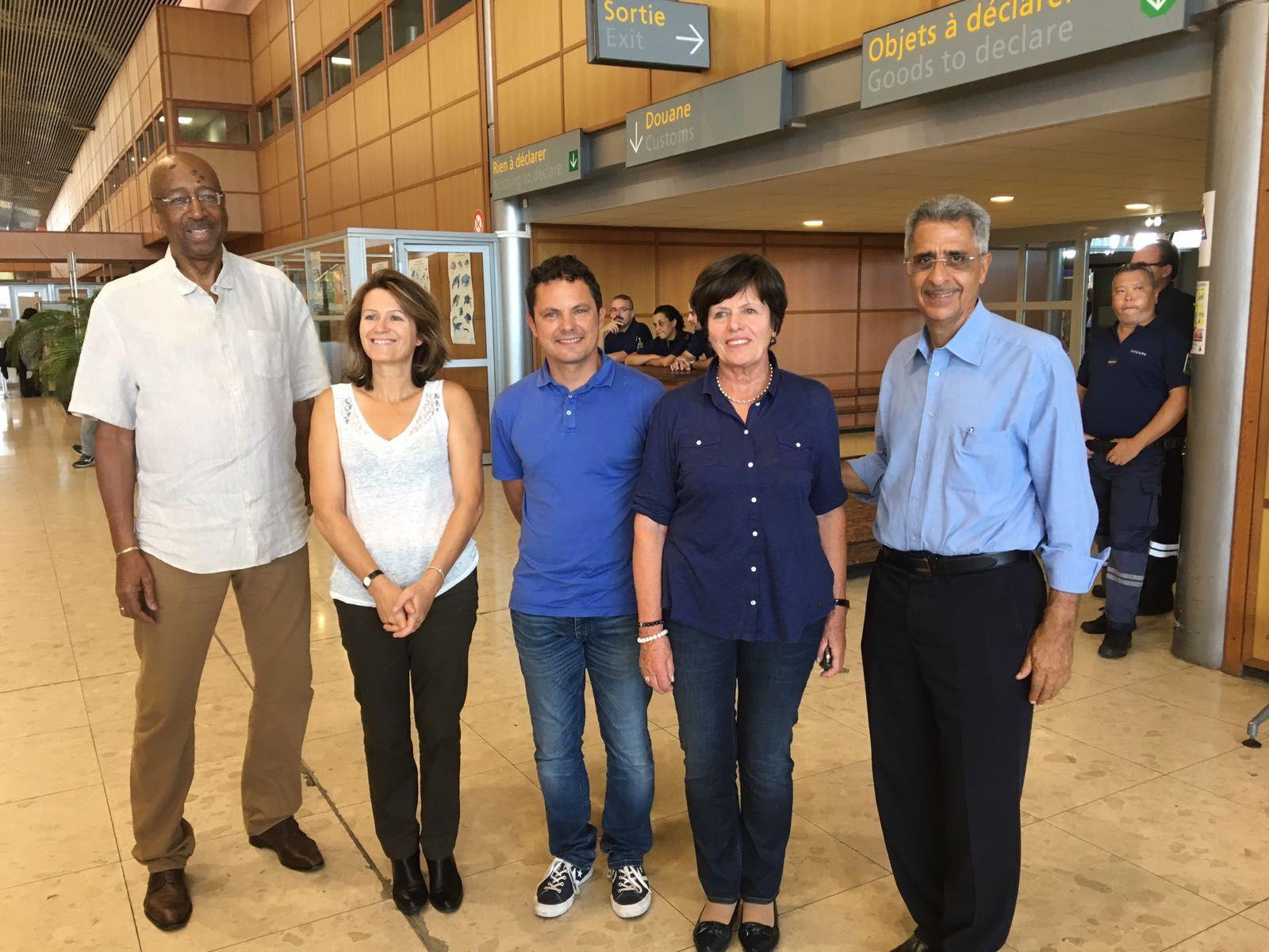La délégation aux entreprises du Sénat en déplacement en Guyane