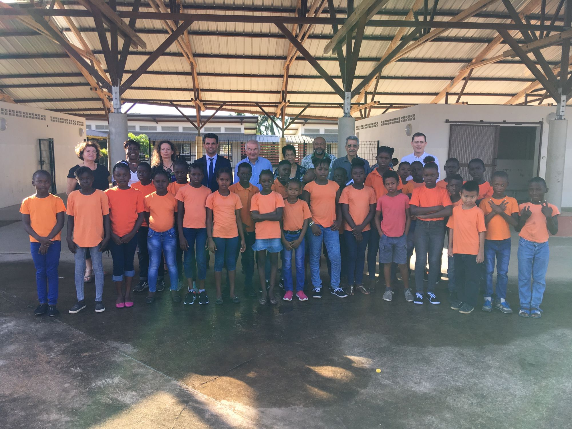 Déplacement en Guyane de la Commission Culture, Education et Communication du Sénat