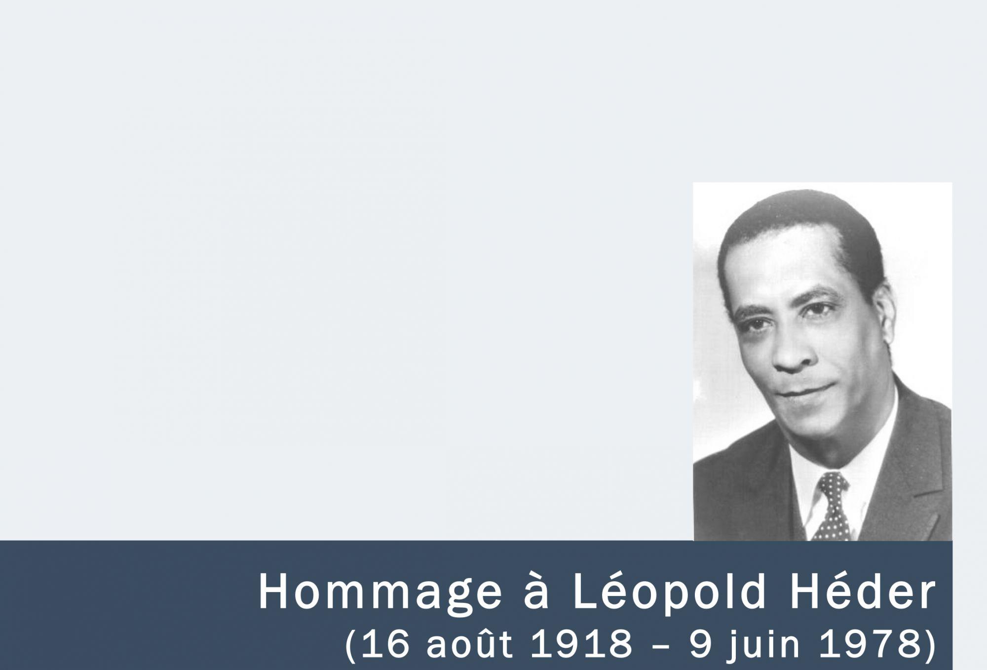 Hommage à Léopold Héder : Itinéraire d'un homme libre