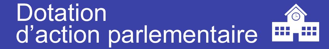 Réserve parlementaire : 4 communes guyanaises bénéficiaires en 2017